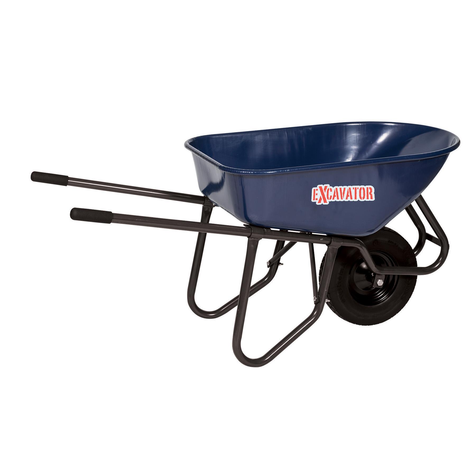 Seymour Excavator 6 Cu Ft Wheelbarrow Steel Tray