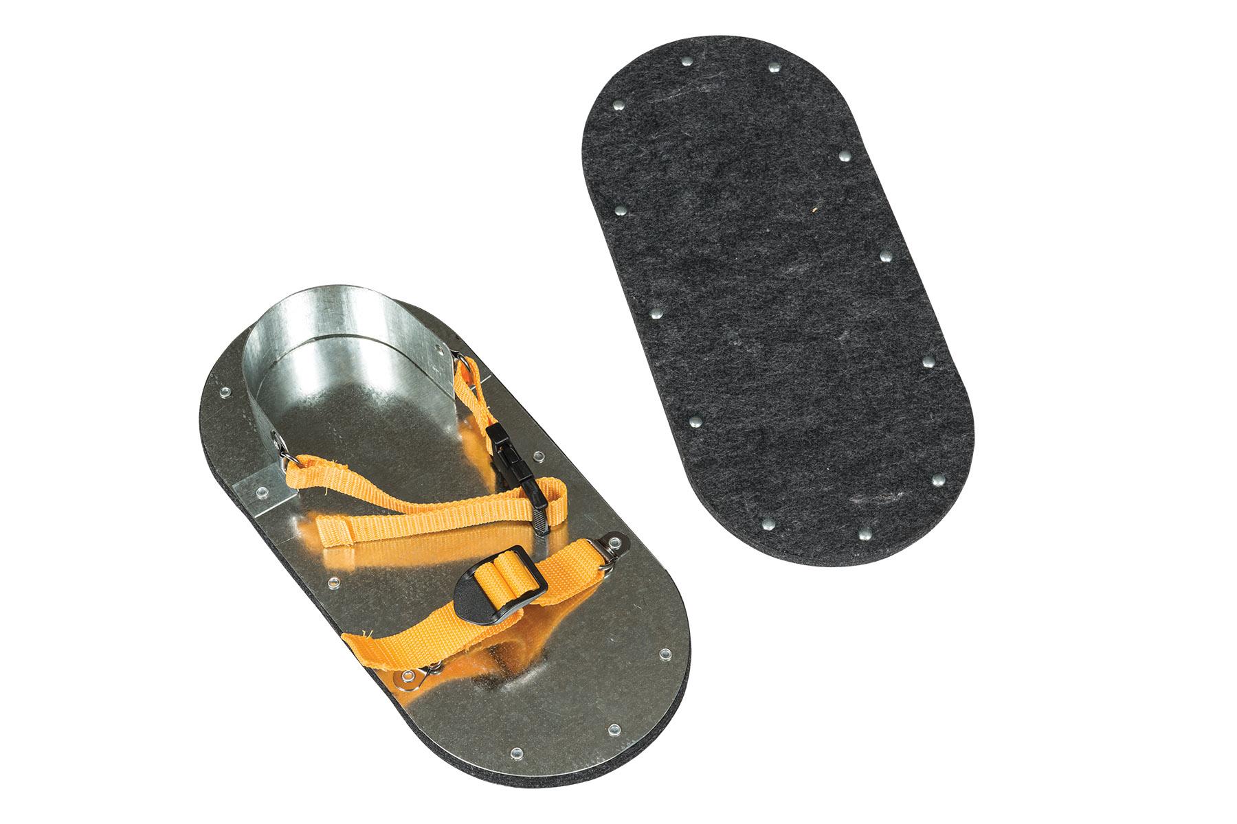 Asphalt Shoes Felt Soled Pair